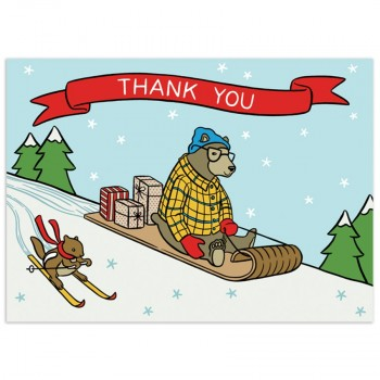 Holiday Toboggan Thanks