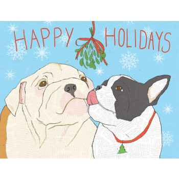 Mistletoe Holiday Dogs