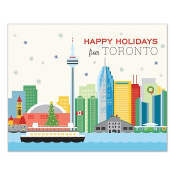 Toronto Skyline Holiday