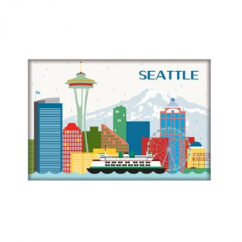 Magnet - Seattle Skyline
