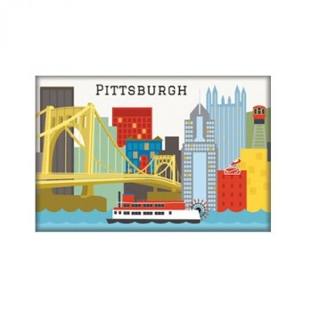 Magnet - Pittsburgh Skyline