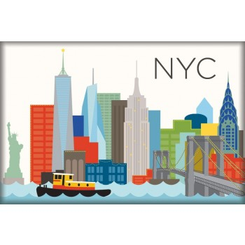 Magnet - NYC Skyline