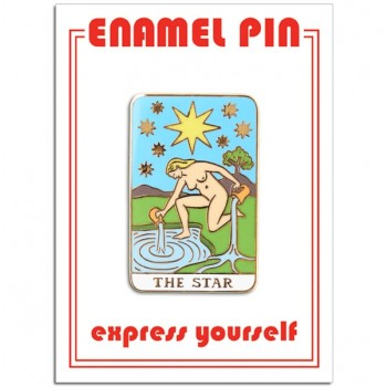 Pin - Star Tarot Card