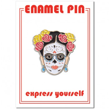 Pin - Frida Day of the Dead