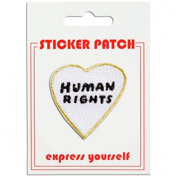 Sticker Patch - Human Rights Heart