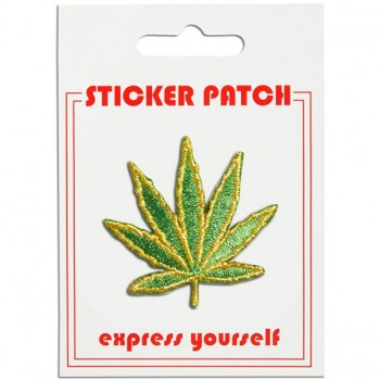 Sticker Patch - Weed Leaf