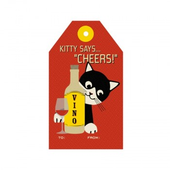Tag - Kitty Says Cheers (8/pk)
