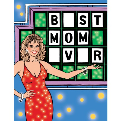 Wheel of Fortune Best Mom Ever