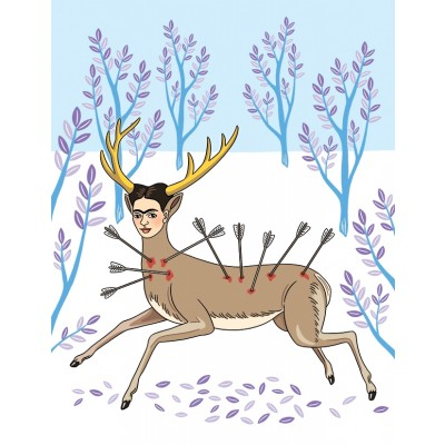 Frida Wounded Deer Blank