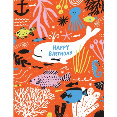 Under The Sea Happy Birthday