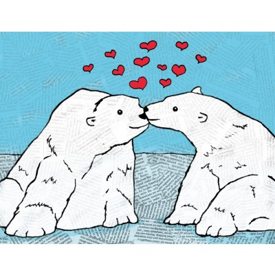 Polar Bears-you melt my heart