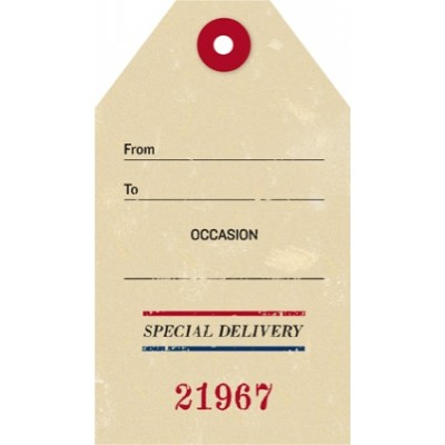 Tag - Special Delivery (8/pk)