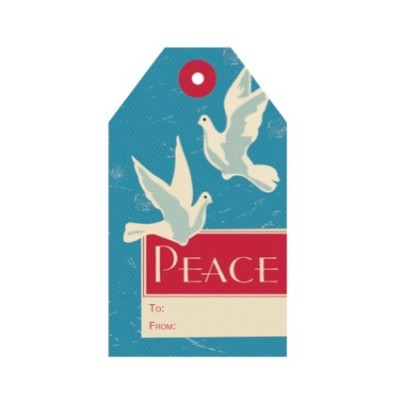 Tag - Peace Doves (8/pk)