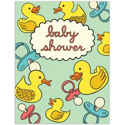 Baby Shower Rubber Ducks