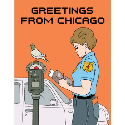 Ticket - Greetings from Chicago