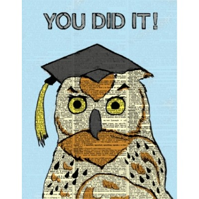 Grad Owl-You did it!