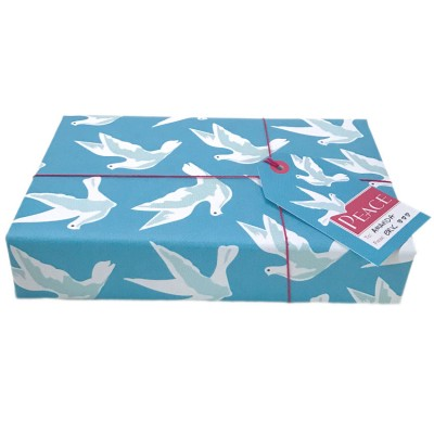 Peace Doves Gift Wrap