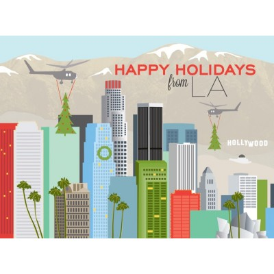 LA Skyline Holiday