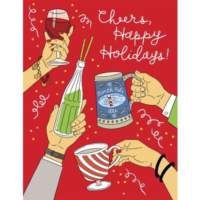 Cheers, Happy Holidays!