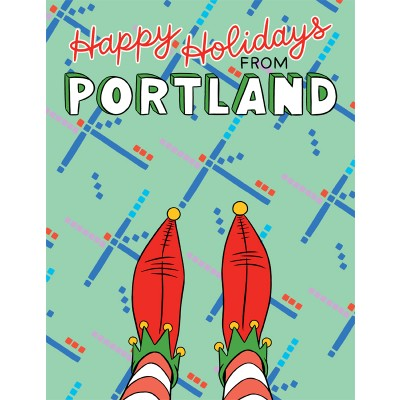 Portland PDX Elf Booties