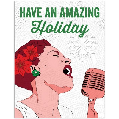 Billie Holiday Have an Amazing Holiday