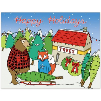 Holiday Animals Tree Lot