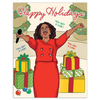 Oprah You Get a Car Happy Holidays