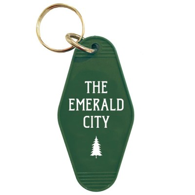 Key Tag-The Emerald City