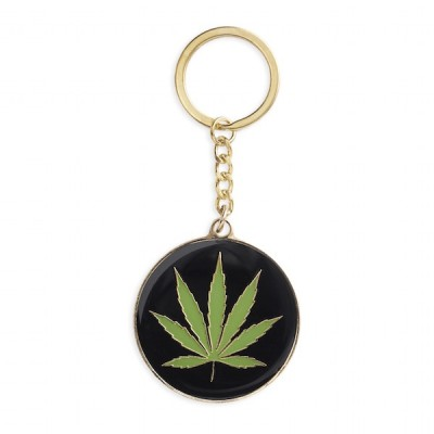 Key Chain - Pot leaf