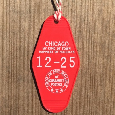 Key Ornament-Chicago Holidays