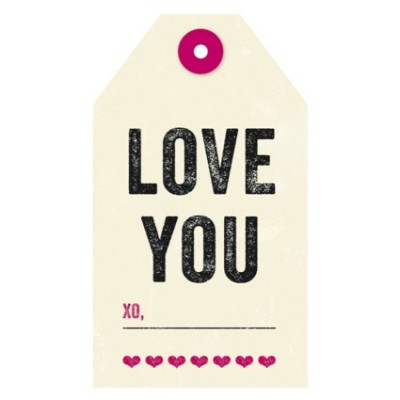 Tag - Love You (8/pk)