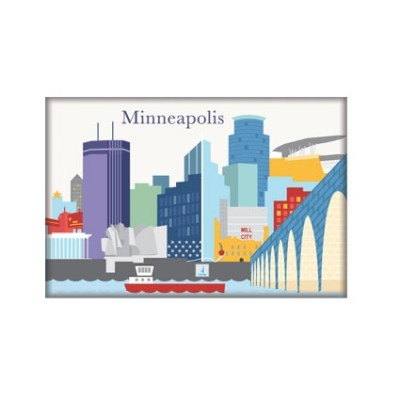 Magnet - Minneapolis Skyline