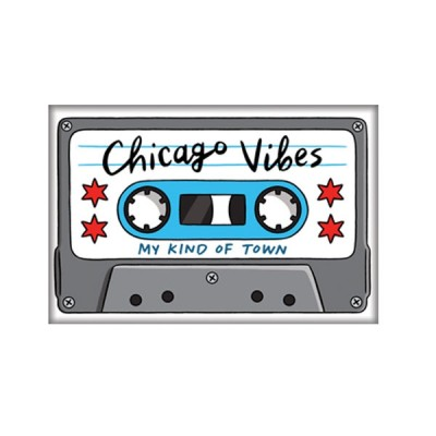 Magnet - Chicago Cassette Tape