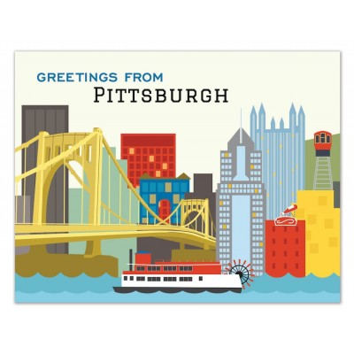 Greetings from Pittsburgh Skyline
