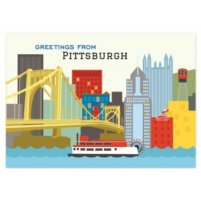 Postcard - Pittsburgh Skyline