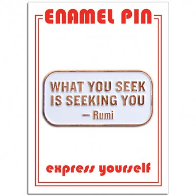 Pin - Rumi Quote