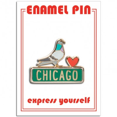 Pin - Chicago Pigeon