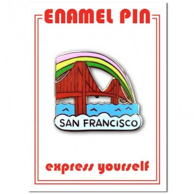 Pin - San Francisco Golden Gate Bridge