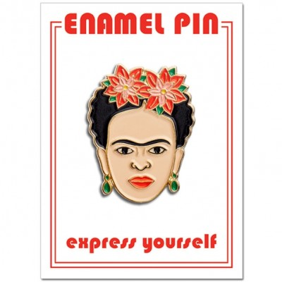 Pin - Frida Red Florals