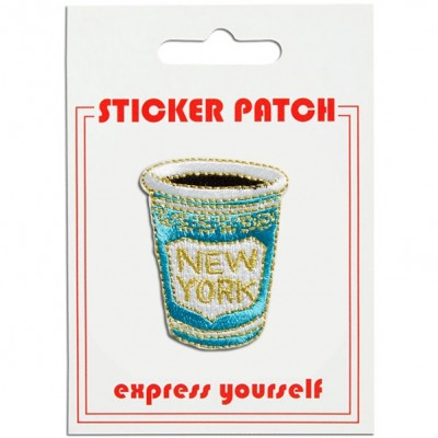 Sticker Patch - NY Coffee Cup