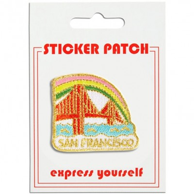 Sticker Patch - Golden Gate Bridge