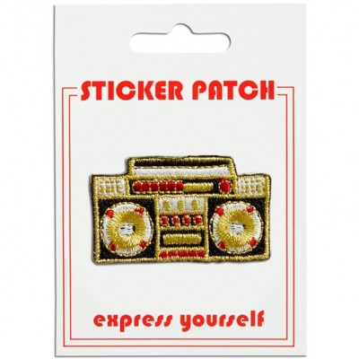 Sticker Patch - Boom Box