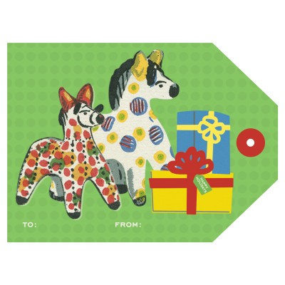 Large Tag - Toy Ponies (8/pk)
